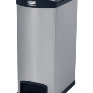 Slim Jim Step On container End Step RVS 50 ltr, Rubbermaid