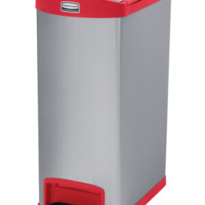 Slim Jim Step On container End Step 50 liter, Rubbermaid